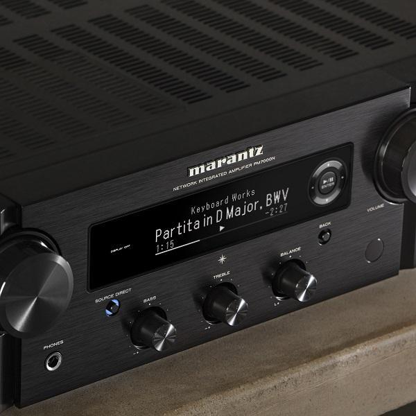A Marantz bemutatja az új, nagy teljesítményű, integrált PM7000N erősítőt zenei streaming képességekkel
