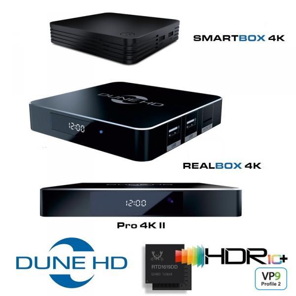 Dune HD SmartBox 4K és egyéb új modellek