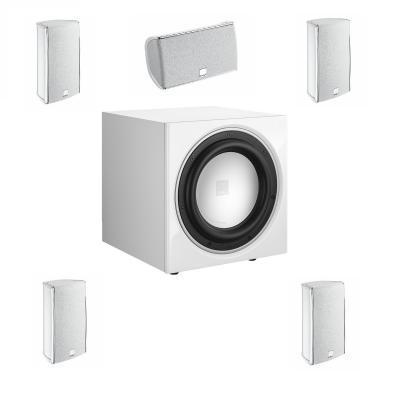 Dali Fazon Mikro 5.0 + SUB E-9F 5.1 szett fehér