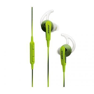 Bose SoundSport® in-ear fejhallgató – Apple készülékekhez energikus zöld