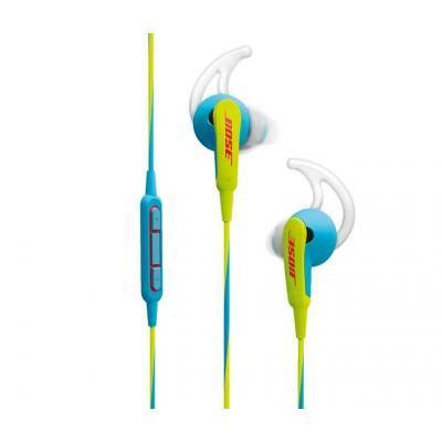Bose SoundSport® in-ear fejhallgató – Apple készülékekhez neonkék