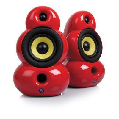 SMALLPOD Lifestyle hangsugárzó piros