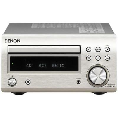 Denon RCD-M41 DAB+ sztereó CD/rádióerősítő ezüst