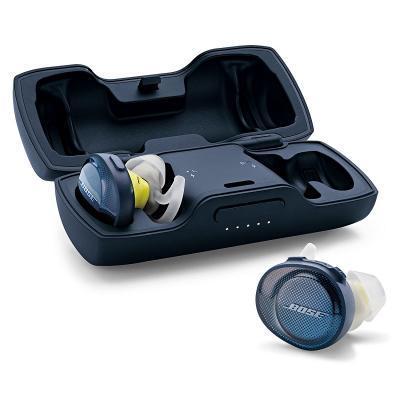 Bose SoundSport Free vezeték nélküli fejhallgató kék-citrom