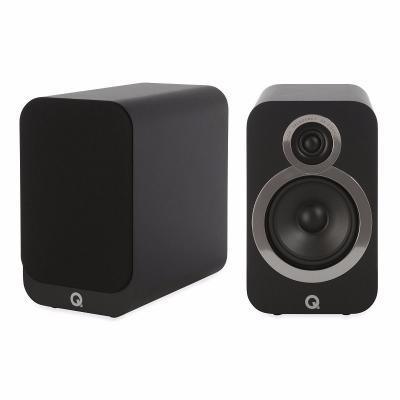 Q Acoustics QA 3020i polc hangsugárzó fekete