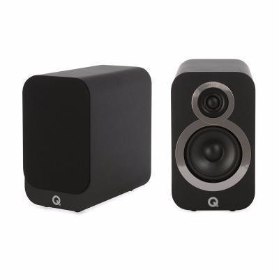 Q Acoustics QA 3010i polc hangsugárzó fekete