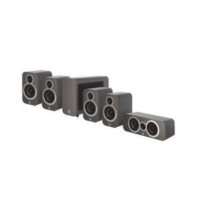 Q Acoustics QA 3010i/3010i/3090Ci/3060S 5.1 házimozi hangsugárzó szett szürke