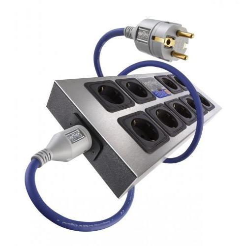 IsoTek EVO3 Corvus - hálózati tápelosztó és szűrő készülék + Premier tápkábel