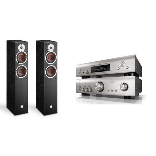 Denon PMA-800NE + DNP-800NE + Dali Spektor 6 szett premium silver