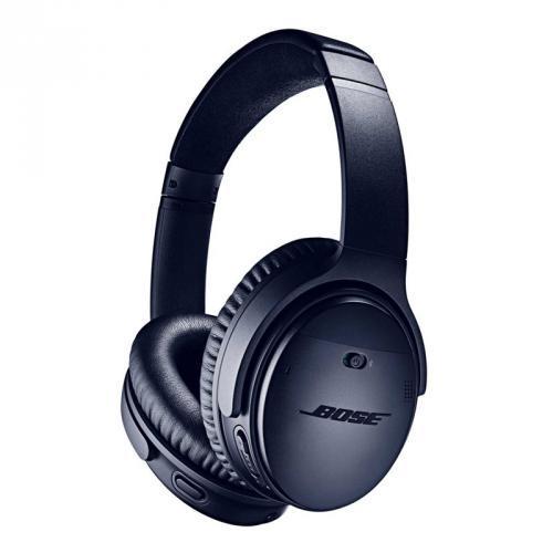 Bose QuietComfort 35 vezeték nélküli zajkioltó fejhallgató II Triple Midnight