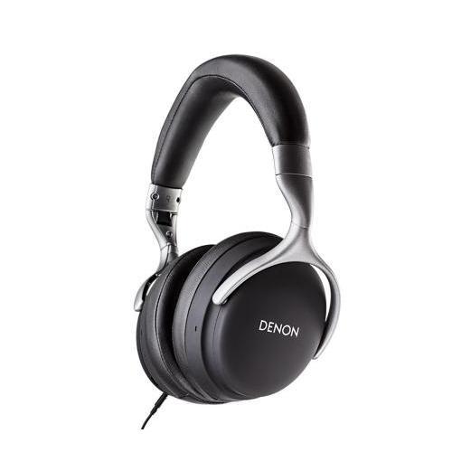 Denon AH-GC25W Bluetooth fejhallgató fekete