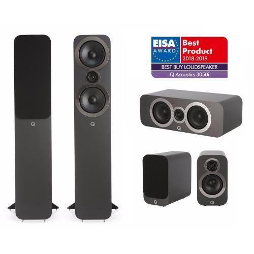 Q Acoustics QA 3050i+3010i+3090Ci 5.0 házimozi hangsugárzó szett szürke