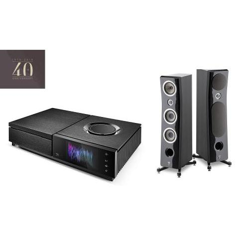 Naim Uniti Star All-in-One Player + Focal Kanta No. 2