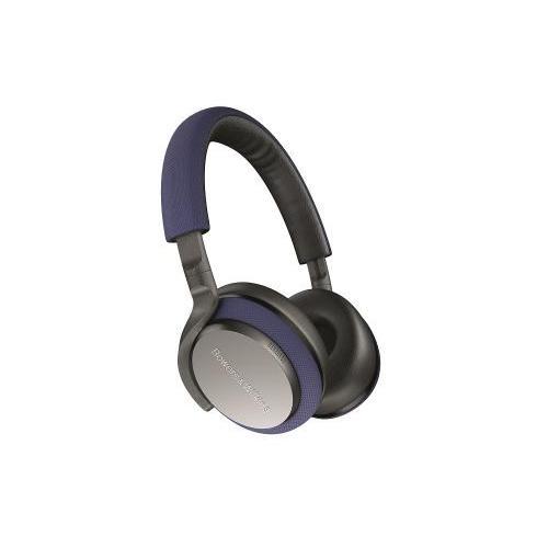 Bowers & Wilkins PX5 vezeték nélküli fülre felfekvő fejhallgató aktív zajcsökkentéssel kék