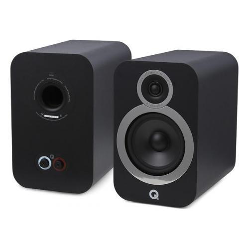 Q Acoustics QA 3030i polc hangsugárzó fekete