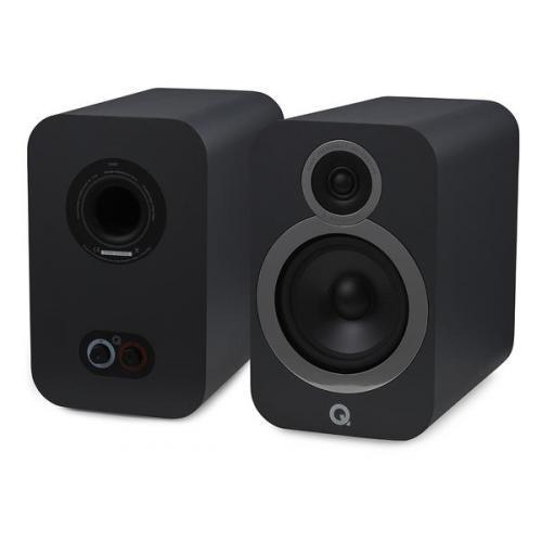 Q Acoustics QA 3030i polc hangsugárzó szürke