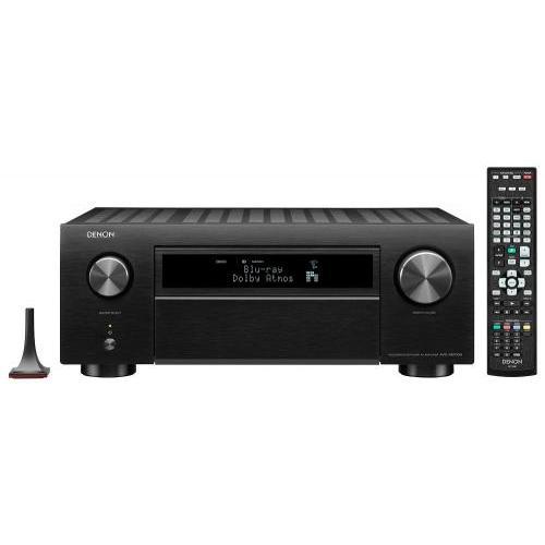 Denon AVC-X6700H 11.2 8k Dolby Atmos AV erősítő fekete