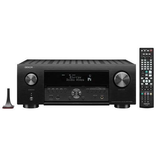 Denon AVC-X4700H 9.2 8k Dolby Atmos AV erősítő fekete
