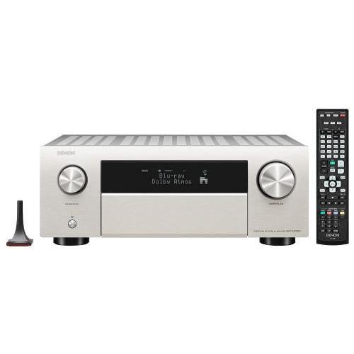 Denon AVC-X4700H 9.2 8k Dolby Atmos AV erősítő premium silver