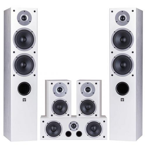 Wilson Raptor 5/Mini/Vocal 5.0 házimozi hangsugárzó szett fehér