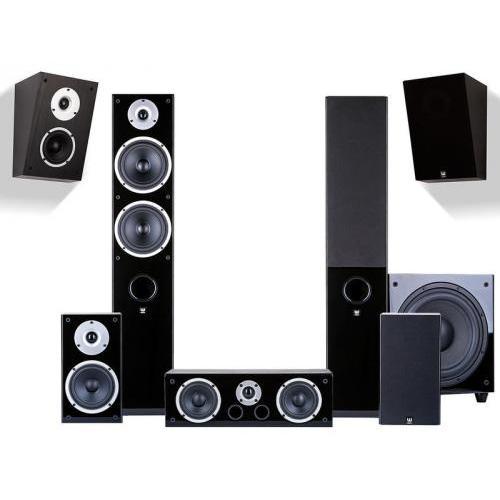 Wilson Raptor 7/1/X/Vocal + SUB-10 5.1.2 házimozi hangsugárzó szett fekete