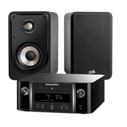 Marantz M-CR612 Melody + Polk Audio Signature S 15E szett fekete