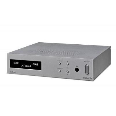 Audiolab Q-DAC 32 bites D/A konverter ezüst