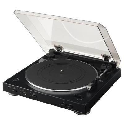 Denon DP-200USB Automata analóg lemezjátszó MP3 kódolással fekete