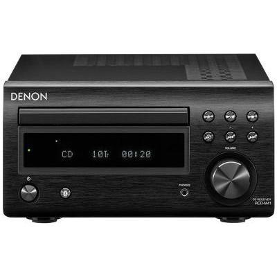 Denon RCD-M41 sztereó CD/rádióerősítő fekete