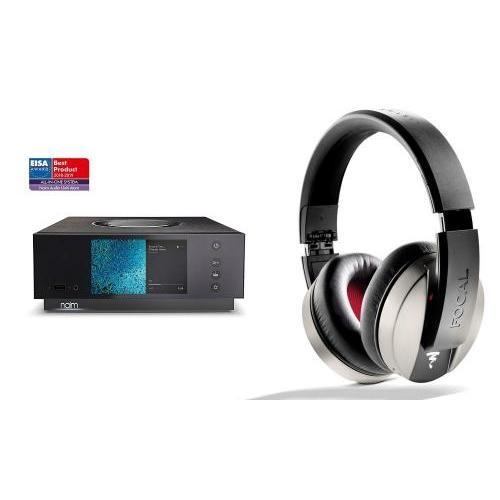 Naim Uniti Atom HDMI All-in-One Player + Focal Listen fejhallgató
