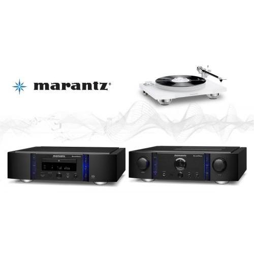 Marantz PM14S1 SE fekete + SA14S1 SE fekete + TT15S1 high-end szett