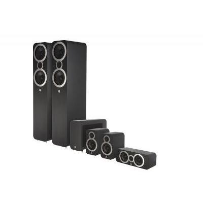 Q Acoustics QA 3050i/3010i/3090Ci/3060S 5.1 házimozi hangsugárzó szett fekete