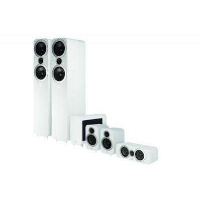 Q Acoustics QA 3050i/3010i/3090Ci/3060S 5.1 házimozi hangsugárzó szett fehér