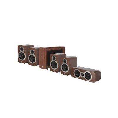 Q Acoustics QA 3010i/3010i/3090Ci/3060S 5.1 házimozi hangsugárzó szett dió