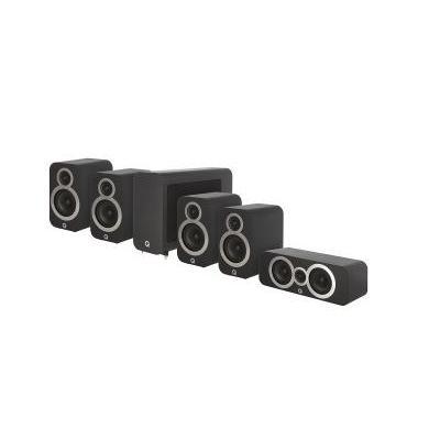 Q Acoustics QA 3010i/3010i/3090Ci/3060S 5.1 házimozi hangsugárzó szett fekete