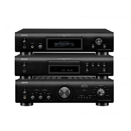 Denon PMA-800NE + DCD-800NE + DNP-800NE szett fekete