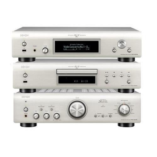 Denon PMA-800NE + DCD-800NE + DNP-800NE szett premium silver