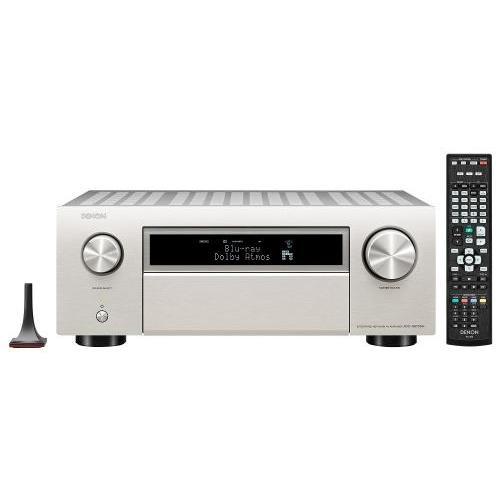 Denon AVC-X6700H 11.2 8k Dolby Atmos AV erősítő premium silver