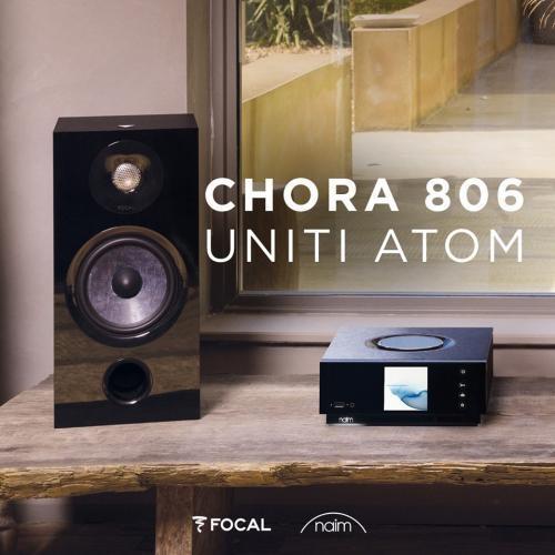 Naim Uniti Atom + Focal Chora 806 szett