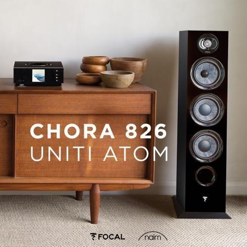 Naim Uniti Atom + Focal Chora 826 szett
